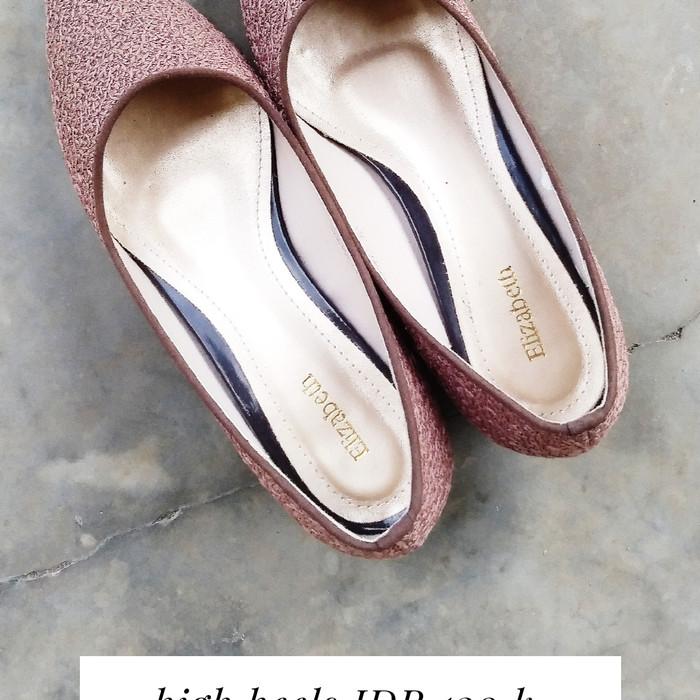 Jual Preloved Sepatu Elizabeth Cokelat 36 Kab Semarang