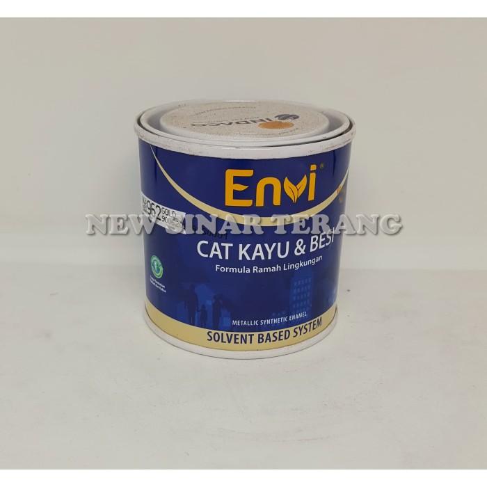 Foto Produk Cat ENVI 962 Gold | Bron Emas 0,2 Ltr (utk Wilayah Jawa) dari New Sinar Terang