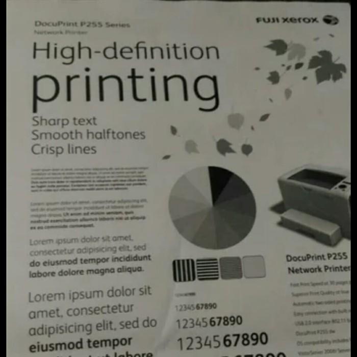 Jual Printer fuji xerox Docuprint p255 DW - Kota Bandung - Rohmah Digital  Printer | Tokopedia