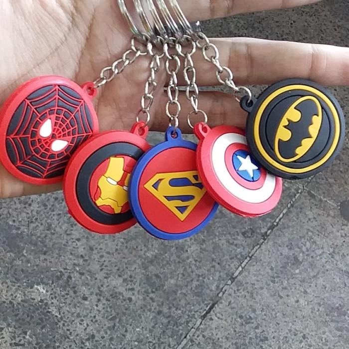 Foto Produk Gantungan Kunci Karet Superhero dari RAFANIA SOUVENIR JOGJA
