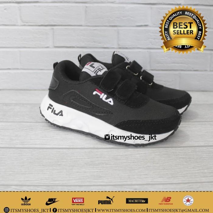 Jual Sepatu Fila Anak Model Perekat Sepatu Sekolah Anak Laki