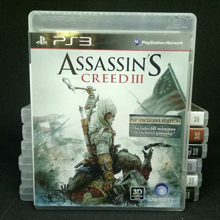 Jual Game Ps3 Assassin S Creed Iii Original Kota Surakarta