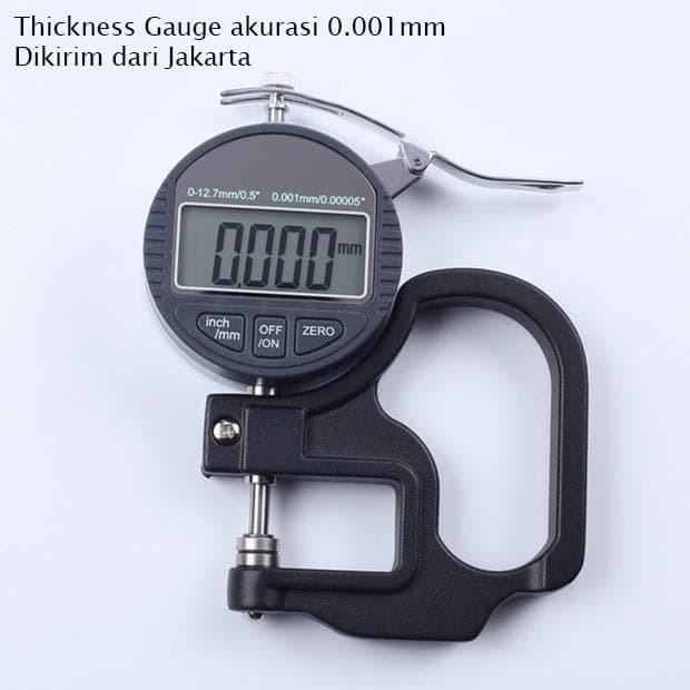 Foto Produk Thickness Gauge 0.001 mm Micrometer Tester 0.001mm Ketebalan Milimeter dari HRDIK