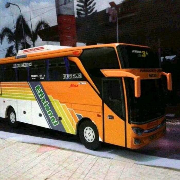 Jual Miniatur Bus Efisiensi Jetbus 3 Kab Banyumas Busindo Craft Tokopedia