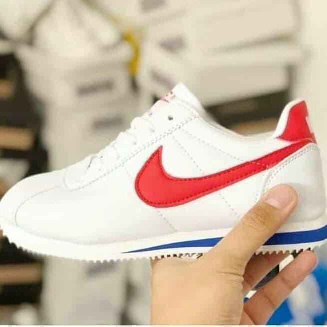 Floración graduado tirar a la basura  Jual Sepatu Wanita Cewe Nike Cortez Import Murah - Putih, 38 - Kab ...