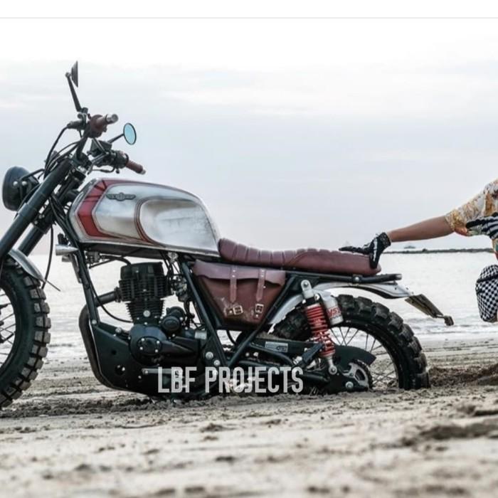 harga Tas motor classic / side bag / cover aki /tutup aki caferacer japstyle Tokopedia.com