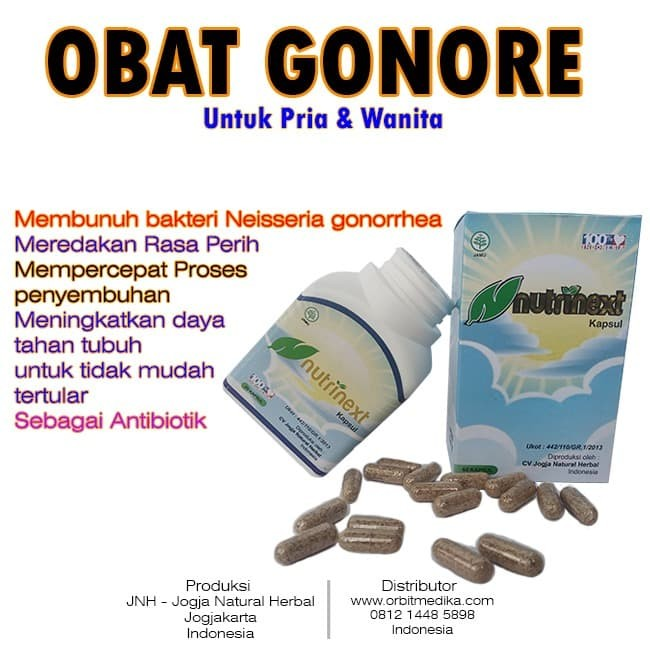 Obat Gonore dan Kencing Nanah