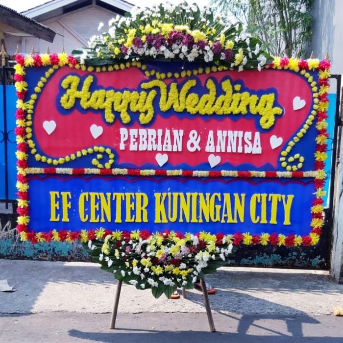 Jual Papan Bunga Duka Cita Karangan Bung Happy Wedding Jakarta Jakarta Barat Pasar Bunga Co Id Tokopedia