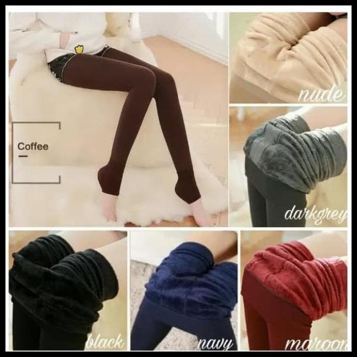 Jual Lagi Trend Celana Legging Thermal Winter Musim Dingin Perempuan Jakarta Pusat Widiyani Retail Tokopedia