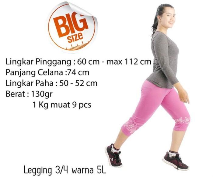 Jual Jual Celana Grosir Celana Legging Wanita 3 Per 4 5l Bunga Warna Kota Surabaya Damiandam Store Tokopedia