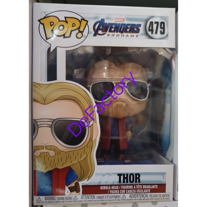Vinyle Casual Thor Collection Figure #479 Endgame Pop Funko Avengers