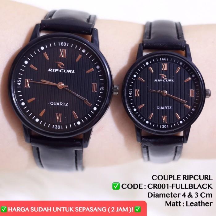 harga Jam tangan couple ripcurl harga sudah sepasang 2pc tali kulit leather Tokopedia.com