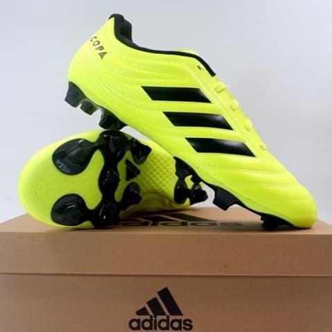Promo Sepatu Bola Adidas Copa 19 4 Fg Syello Black F35499 Ori