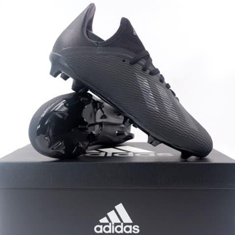 Promo Sepatu Bola Anak Adidas X 19 3 Fg Jr Core Black Uti Black