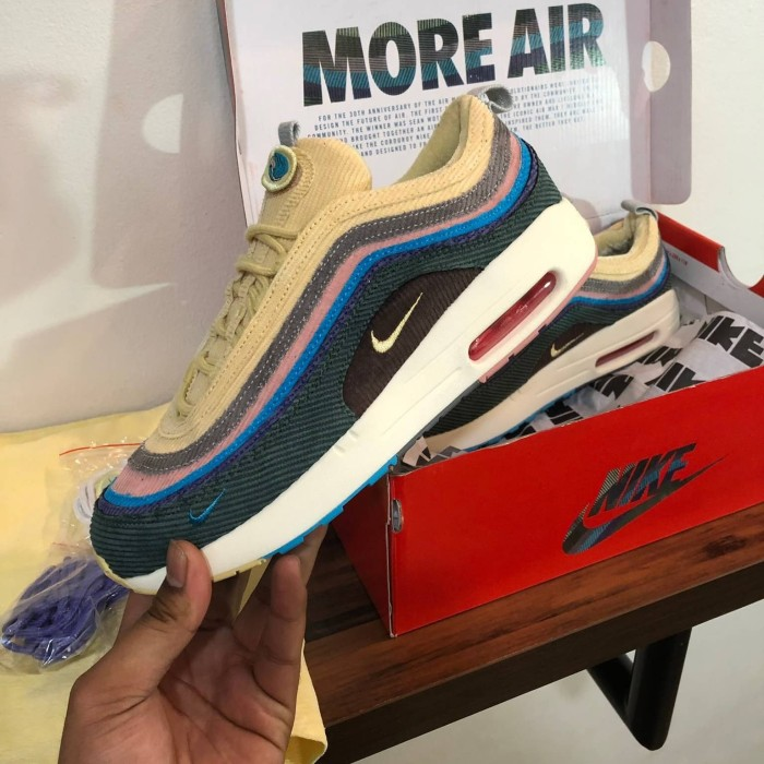 Nike air max 97 SEAN WOTHERSPOON white tank Lacing Up
