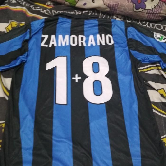 best sneakers 629ca 59cfa Jual Jersey Inter Milan home NNS Zamorano - Jakarta Selatan - GapleG    Tokopedia