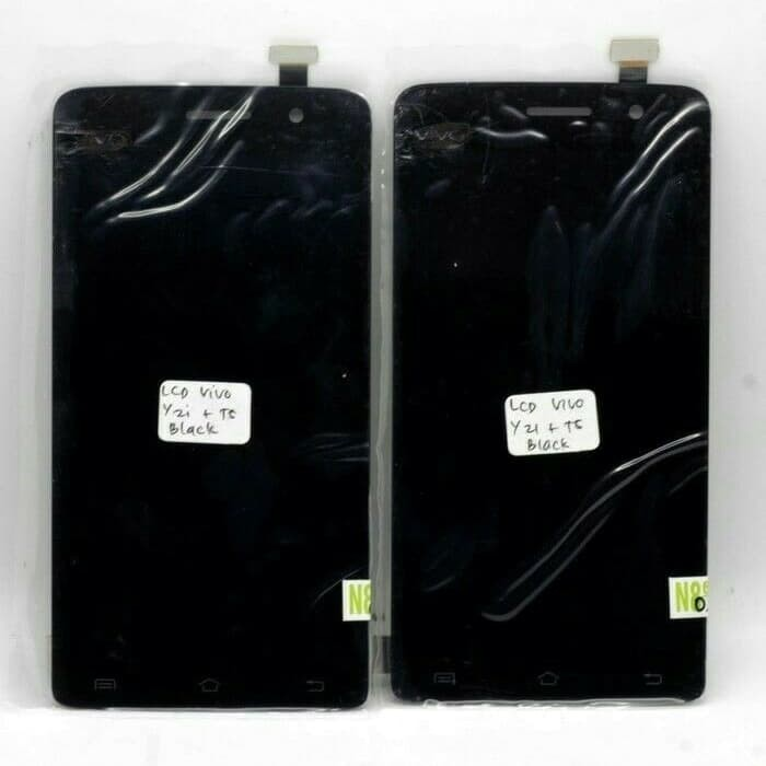 Foto Produk lcd touchsreen fullset vivo y21 hitam dari techno phone cikarang