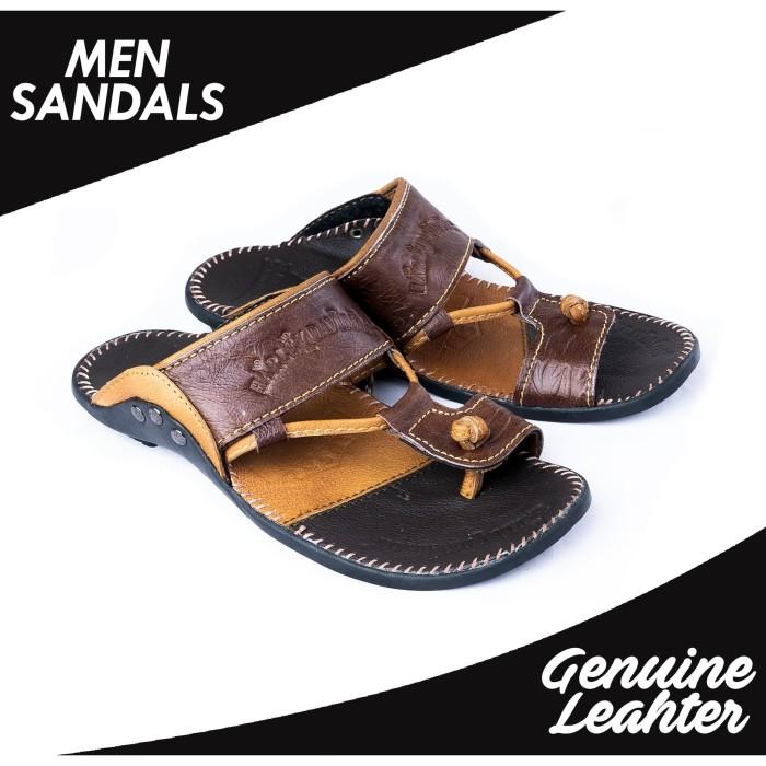 harga Sandal flat casual pria kulit sapi asli ftp s-07 harley davidson Tokopedia.com