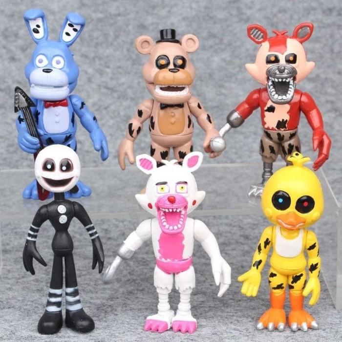 Koala Stuffed Animals Mini, Jual Ii1 Fnaf 6pcs Set Five Nights At Freddy Foxy Chica Bonnie Limited Jakarta Timur Rena Anggini Tokopedia