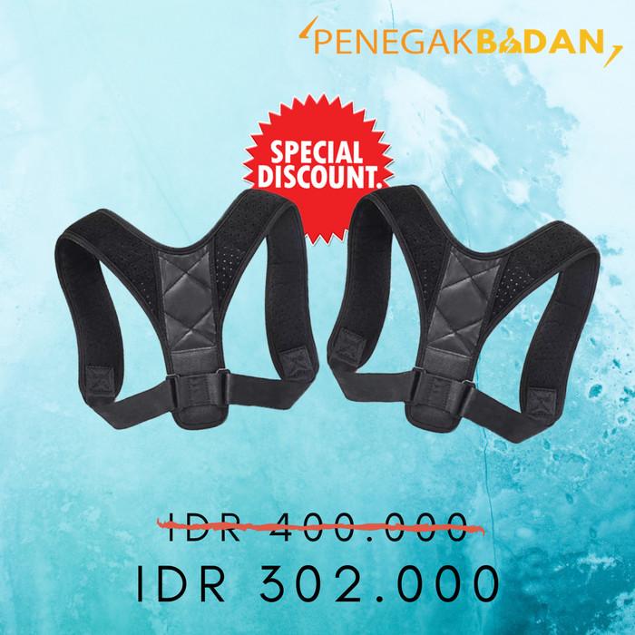 Foto Produk Posture Corrector Anti Bungkuk Support Belt 2 pcs dari posture.id