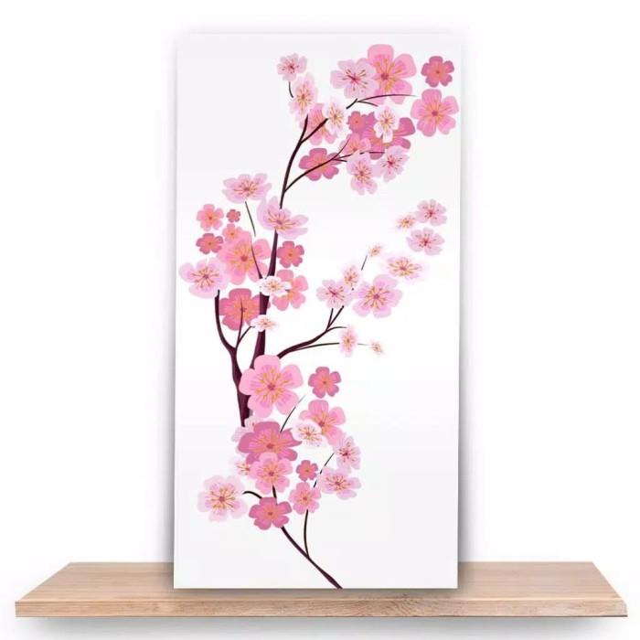 Jual Hiasan Dinding Motif Bunga Sakura Jakarta Timur Suhudekor
