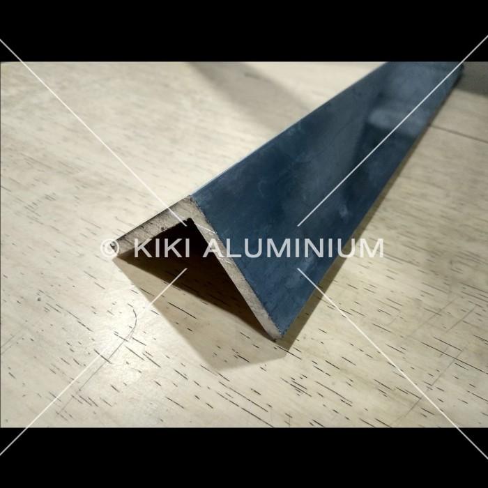 """Foto Produk Siku Aluminium 1"""" x 1"""" x 2 mm (2,5 cm x 2,5 cm) / meter dari Kiki Aluminium"""