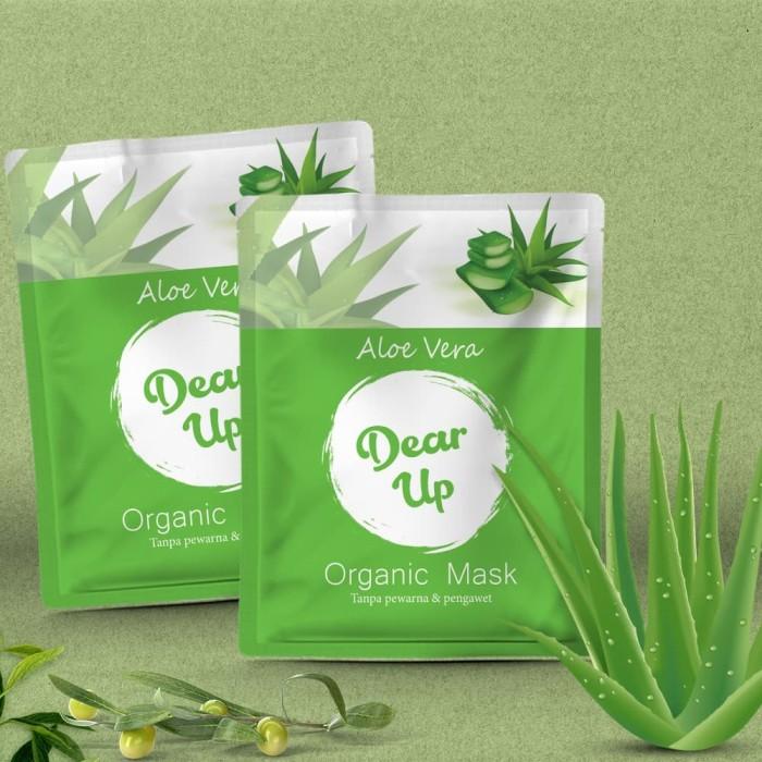 Jual Dear Up Organic Mask Masker Bubuk Organik Kota Bandung Satu Online Store Tokopedia