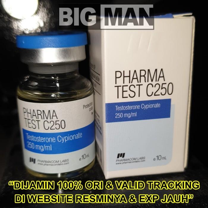Jual Pharma Test C250 TestC 250 TestC250 Pharmacom Labs 10 ml Cypionate ORI  - Jakarta Utara - BIG MAN | Tokopedia