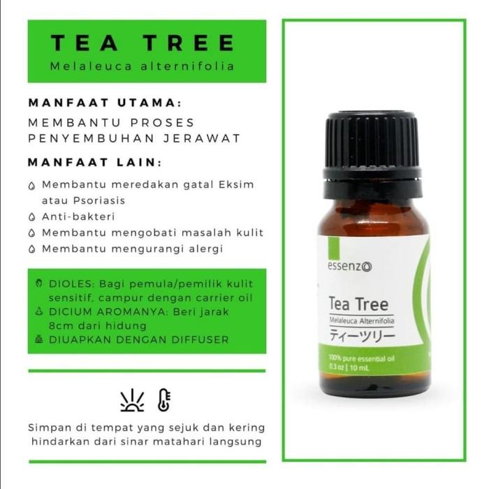 Foto Produk Tea Tree Essential Oil 10 ML (Jerawat) dari zasuci