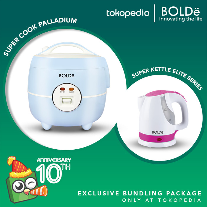 Foto Produk (Exclusive) Bolde Super Cook Palladium Eco + Super Kettle Elite Series dari BOLDe Official Store