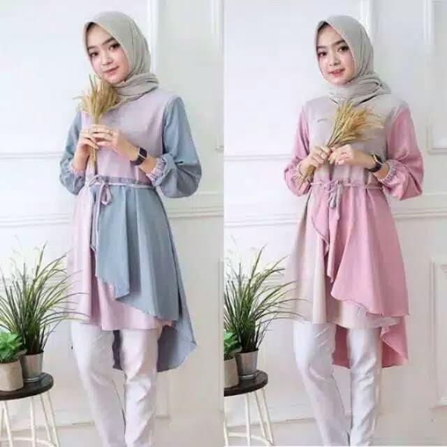 Foto Produk Inaka Long Tunik dari mega.hijab