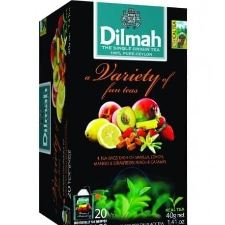 Jual Teh Hitam Celup Buah Dilmah A Variety Of Fun Teas Ceylon Black Tea Kota Medan Lunashop78 Tokopedia