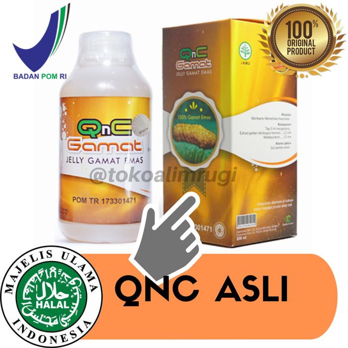 Qnc Jelly Gamat Original 100% Bukan Jelly Gamat Gold G / Luxor