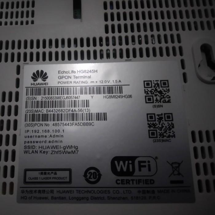 Jual HOT PROMO! Modem Huawei HG8245H / GPON Huawai/ Acses Point / MURAH -  Kota Tangerang Selatan - Friends Acc | Tokopedia