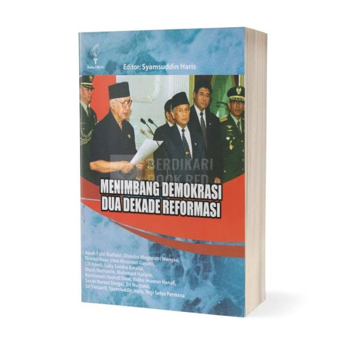 Foto Produk Menimbang Demokrasi Dua Dekade Reformasi dari Berdikari Book