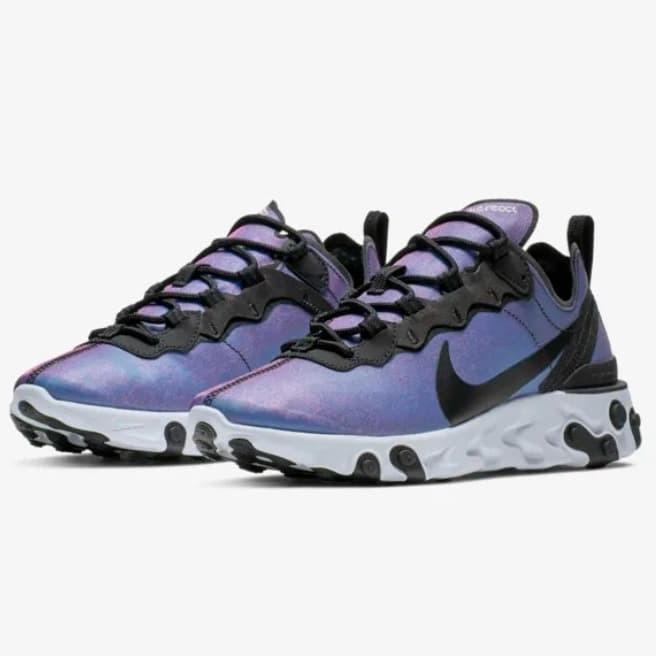 Miserable cuchara Ninguna  Jual Nike React Element 55 Premium - Black Purple, - Kota Medan - Doku Moku  | Tokopedia