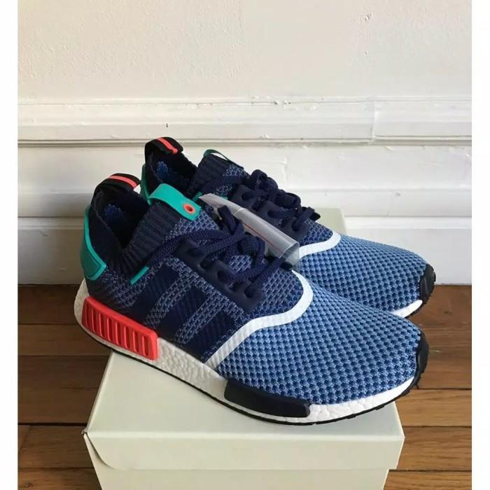 huge discount c3112 533bc Jual ADIDAS NMD R1 Primeknit XPACKER Blue Pk Original Sepatu sneakers pria  - DKI Jakarta - Dr.B Store   Tokopedia
