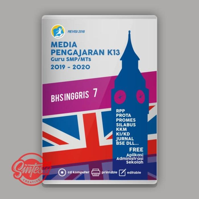 Jual Cd Media Pengajaran K13 Tahun Ajaran 2019 2020 Bhs Inggris Kelas 7 Kab Banyumas Davanka 30 Tokopedia