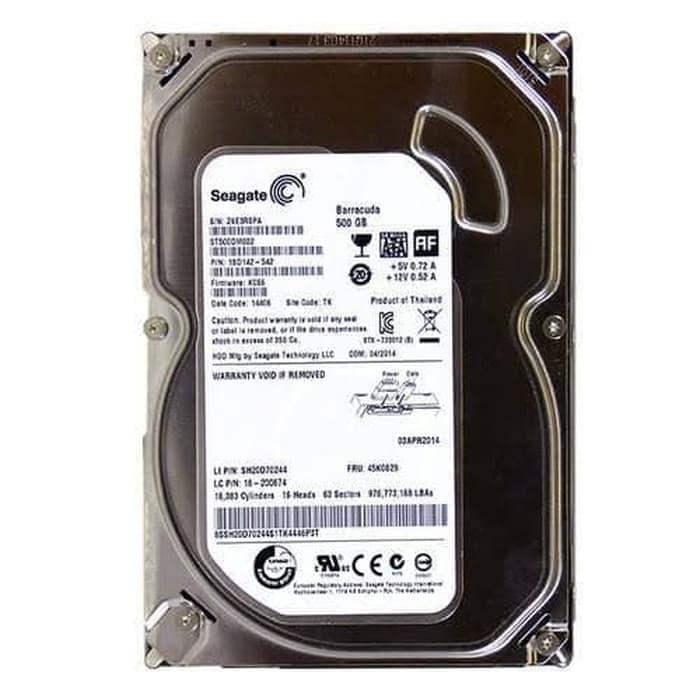 HD 500Gb Seagate Reforbis