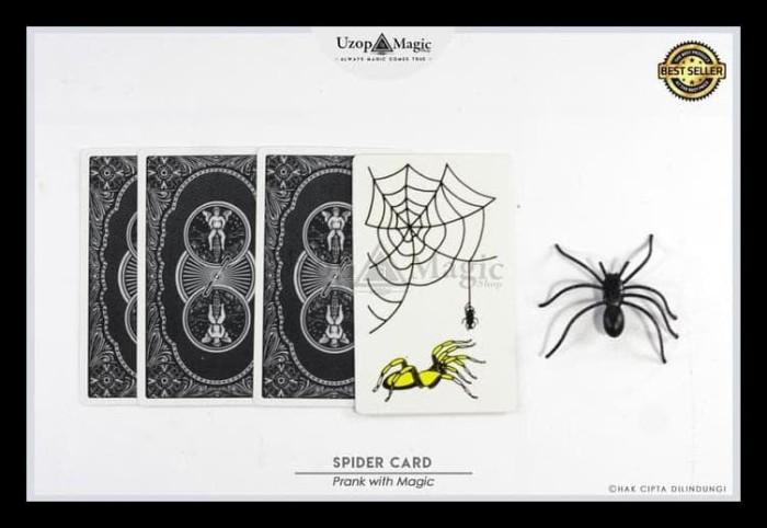 Jual Alat Sulap Spider Card - Alat Jahil Prank - Uzop Magic Shop BOOM SALE  - DKI Jakarta - Clover MEKARJAYA | Tokopedia