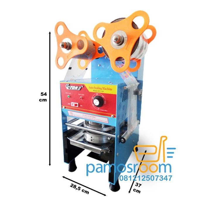 harga Eton cup sealer semi automatic et a9 mesin tutup gelas semi otomatis Tokopedia.com