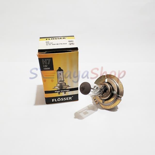 Foto Produk Lampu Halogen H7 12V 100W Flosser dari Seraya Shop