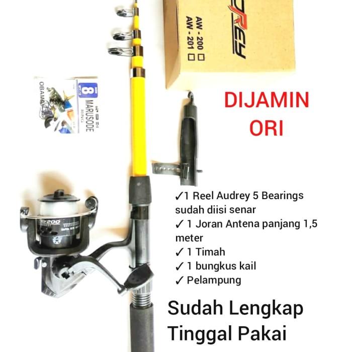 Foto Produk Set Pancing 5 Bearings Kekuatan 5 Kg dari Wardi fishing shop