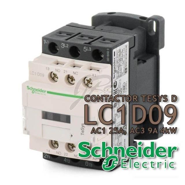 Jual Kontaktor Contactor Schneider LC1D09 B7 D7 E7 F7 M7 Q7 AC COIL -  Jakarta Barat - Toko OL Sinar Jaya Baru | Tokopedia