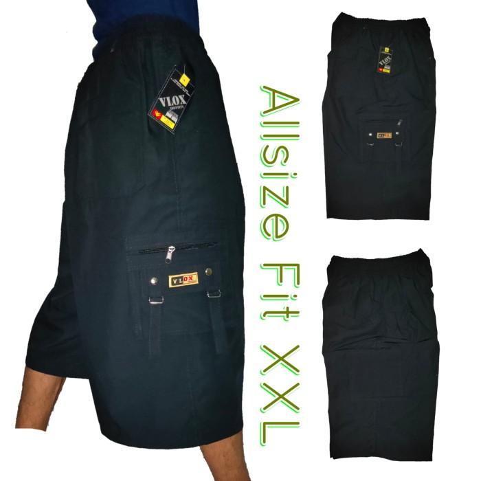 Foto Produk Celana kolor pendek kargo cargo jumbo bigsize 5 saku dari Toko Graciella