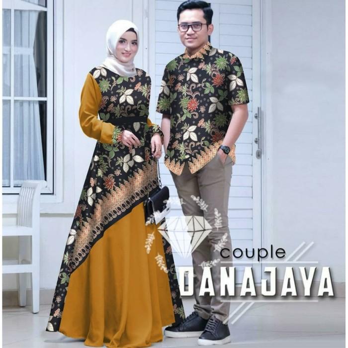 Jual Baju Couple Batik Danajaya Baju Couple Muslim Baju Couple Pesta Jakarta Pusat Ms Laurencia Tokopedia