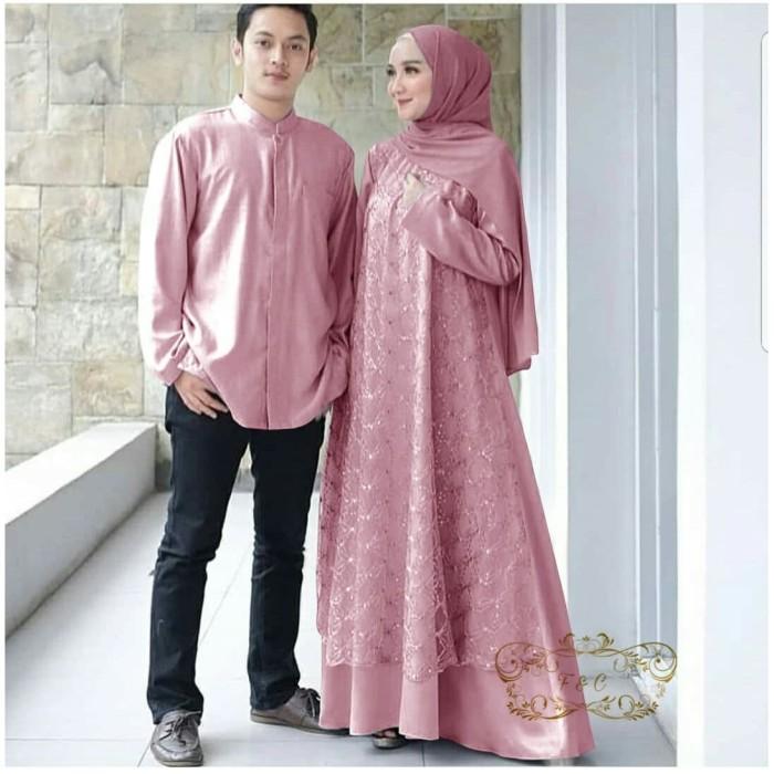 Jual Baju Couple Megan Baju Couple Muslim Couple Pesta Kondangan Mewah Dki Jakarta Ms Laurencia Tokopedia