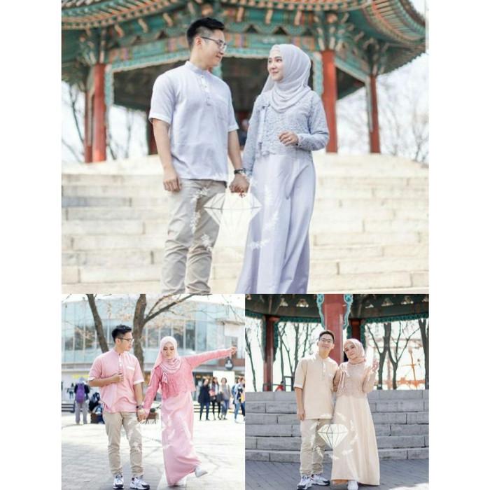Jual Couple Mayuki Baju Couple Korea Couple Muslim Baju Couple Pesta Jakarta Pusat Ms Laurencia Tokopedia