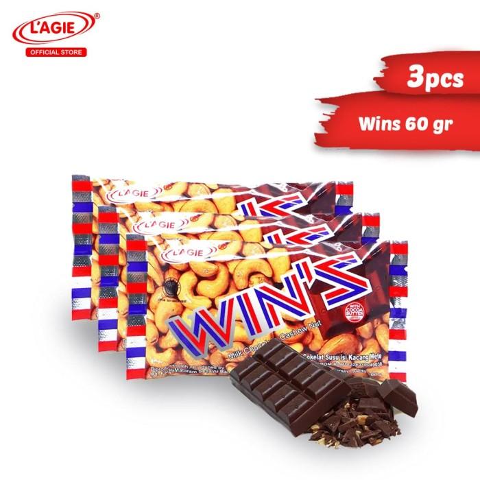 harga Lagie coklat kacang mete wins 3x60gr Tokopedia.com