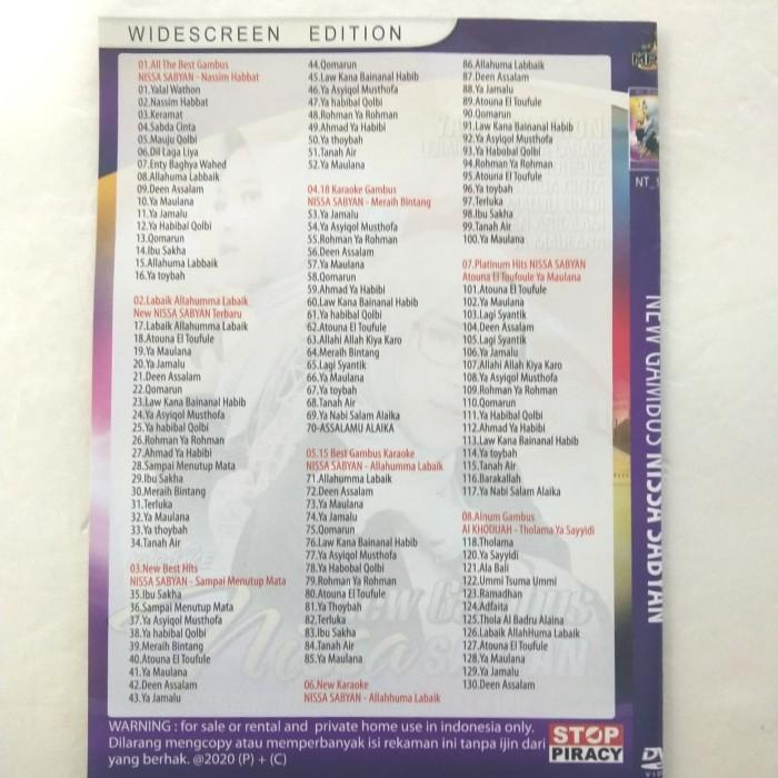 Jual Kaset DVD Musik Nissa Sabyan El OUM - Kaset DVD Religi Nissa Sabyan -  Kota Bekasi - Liank Collection   Tokopedia